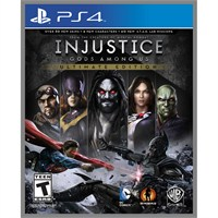 İnjustice Gods Among Us Ultimate Edition Ps4 Oyunu