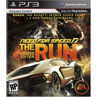 Need For Speed The Run Limited Edition Ps3 Oyunu