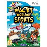 Sega Wii Wacky World Of Sports