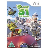 Sega Wii Planet 51 The Game