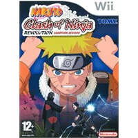 Nintendo Wii Naruto Clash Of Nınja Revolutıon
