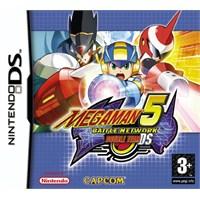 Capcom Ds Megaman 5 Battle Network Double Team