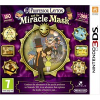 Nintendo 3Ds Professor Layton And The Mıracle Mask