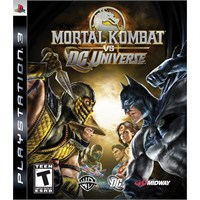 Warner Bros Mortal Kombat Vs Dc Universe Ps3 Oyun