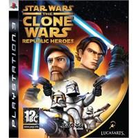 Lucasarts Star Wars The Clone Wars Republic Heroes Ps3 Oyun