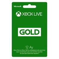 Xbox One / 360 Live 12 Ay Gold Üyelik