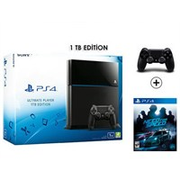 Sony Playstation 4 Ultimate 1Tb Konsol + Need For Speed Ghost + 2. Kol