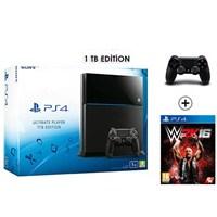 Sony Playstation 4 Ultimate 1Tb Oyun Konsolu + W2k16 + 2. Kol