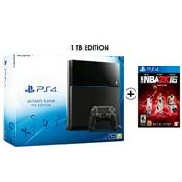 Sony Playstation 4 Ultimate 1Tb Oyun Konsolu + Nba 2K16 Ps4 Oyun