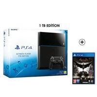 Sony Playstation 4 Ultimate 1Tb Oyun Konsolu + Batman Arkham Knıght