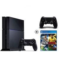 Sony Playstation 4 500Gb Oyun Konsolu + Pes 2016 + 2. Kol