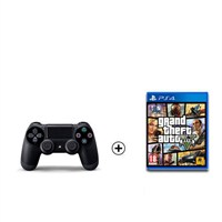 Sony Playstation Dualshock 4 + Gta5 Ps4 Oyun