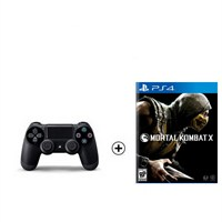 Sony Ps4 Dualshock 4 + Mortal Combat X Ps4 Oyun