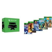 Microsoft Xbox One 500 Gb + Kinect Sensor + Dance Central + KS Rivals + Zooo Tycoon + Max + Loco Cyc