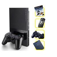 Sony Playstation 2 Konsol +Joystick + Kumanda + Oyun +Memory Card