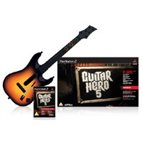 Guitar Hero 5 Gitar Bundle - PS2