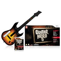 Guitar Hero 5 Gitar Bundle - Wii
