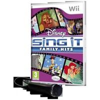 Wii Disney Sing it Family with.Mikrofon
