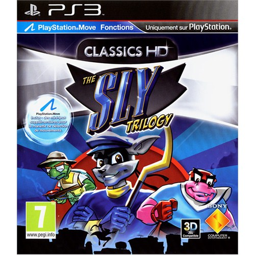 Sly Trilogy Move Uyumlu PS3
