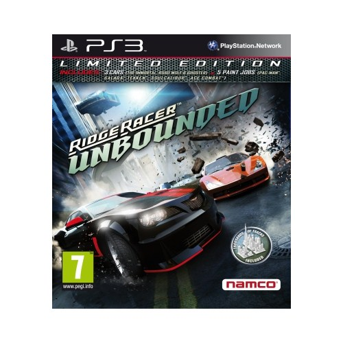 Ridge Racer : unbounded Limited Ed. Ps3