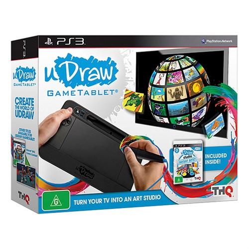 Thq Ps3 Udraw Game Tablet + Udraw Studio Oyun