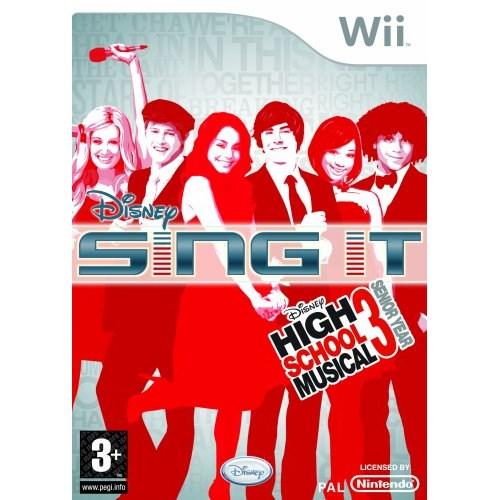 Disney Sing It: High School Musical 3 Nintendo Wii Oyun