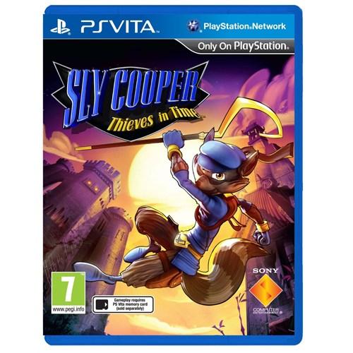 Sony ps Vıta Sly Cooper Thıves In Tıme