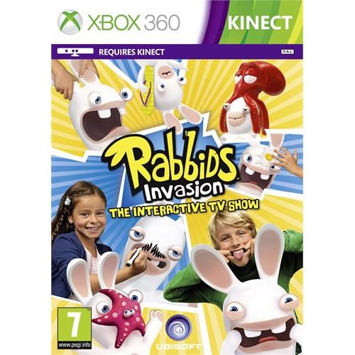 Ubisoft Xbox 360 Kınect Rabbıds Invasıon The Interactıve Tv Show