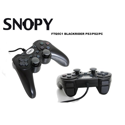 Snopy FT-Q5C1 PS3/PS2/PC Black Rider Gamepad