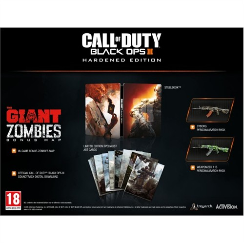 Activision Ps4 Call Of Duty Black Ops 3 He