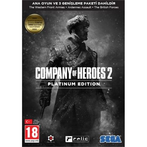 Sega Pc Company Of Heroes 2 Platinum Edition