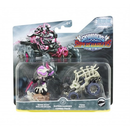Activision Skylanders Superchargers Supercharged Combo Bone Bash Roller Brawl + Tomb Buggy