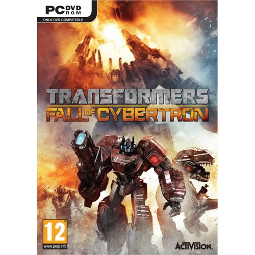 Activision Pc Transformers Fall Of Cybertron