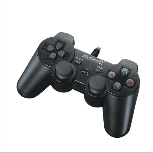 Kontorland PS3/ PS2/ PC USB Dual Shock Game Controller