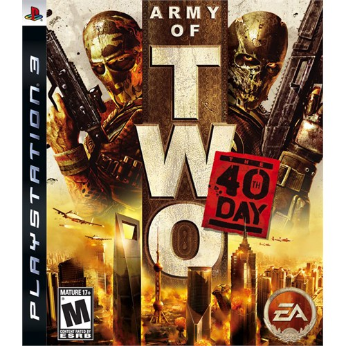 Ea Army Of Two: The 40Th Day Ps3