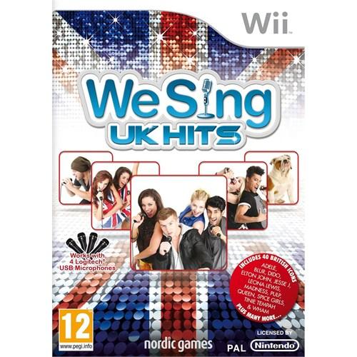 Nintendo OYUN Wii We Sing UK Hits solus