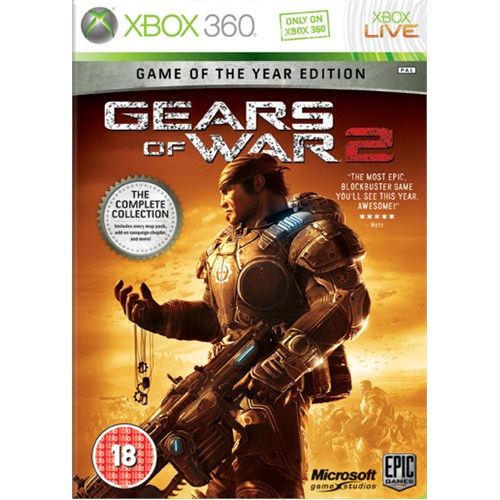 Gears Of War 2 Xbox 360 Oyun