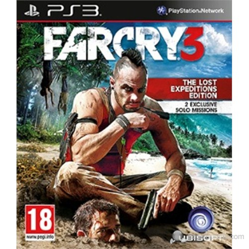 Far Cry 3 Lost Expedıtıons Psx3