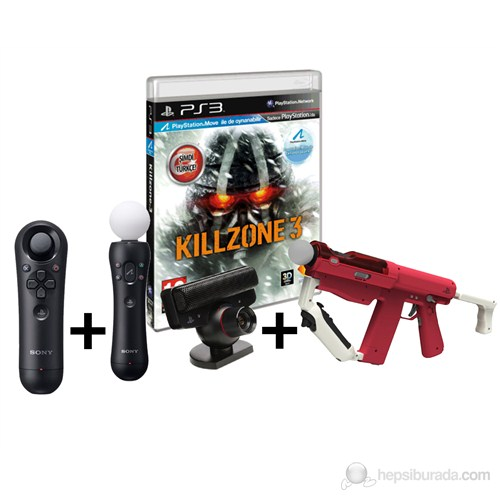 Motion Controller Sharp Shooter + Move Z Control + Move Kamera + Sharp Shooter + Killzone 3