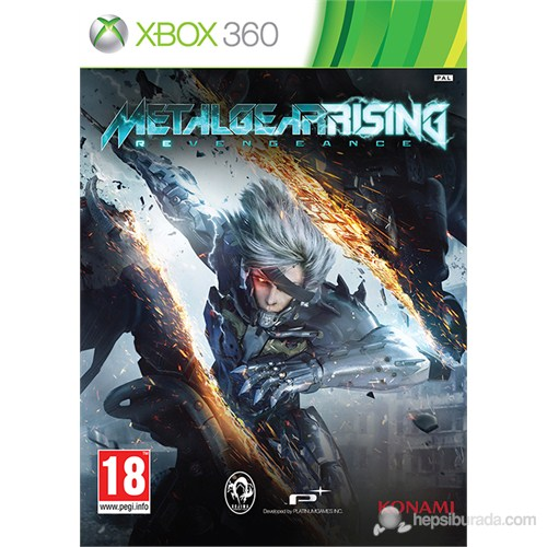 Metal Gear Rising: Revengeance Xbox 360