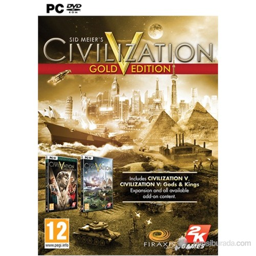 Civilization V: Gold Edition PC