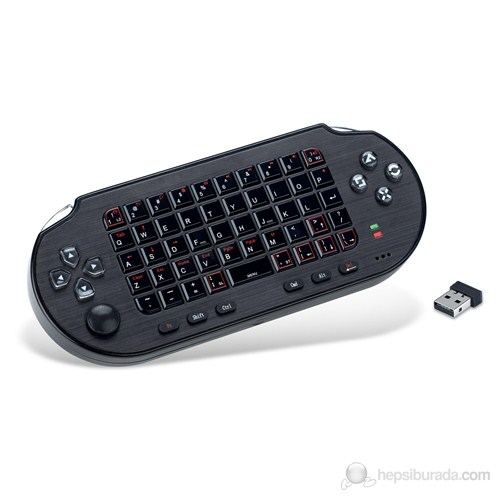 Kontorland AN-300 Kablosuz Ps3/Pc Usb/Tablet Pc/Kindle Fire/Smart Tv Uyumlu Mouse, Keyboard, Analog Game Controller