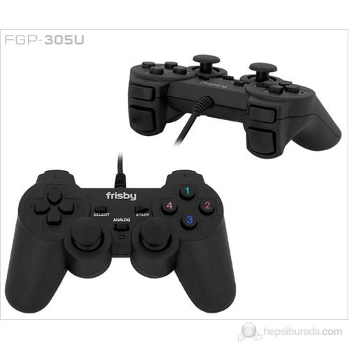 Frisby FGP-305U PC Uyumlu USB Game Pad Titreşimli Direct-X Uyumlu