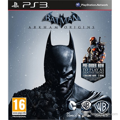 Batman Arkham Origins Limited Edition PS3