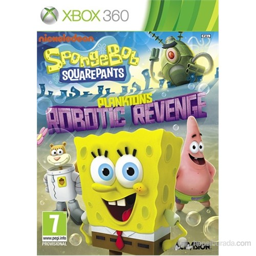 Spongebob Square Pants Xbox 360