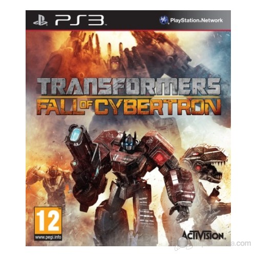 Transformers Fall Of Cyberton PS3