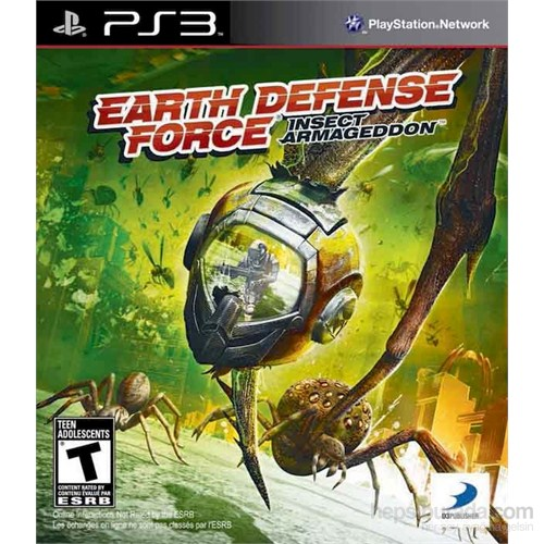 Earth Defence Force Armagedon PS3