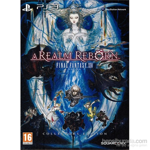 Final Fantasy XIV A Realm Reborn Special Edition PS3