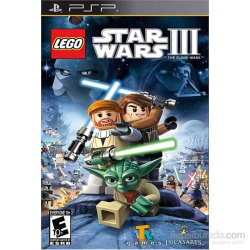 Lego Star Wars 3 The Clone Wars PSP