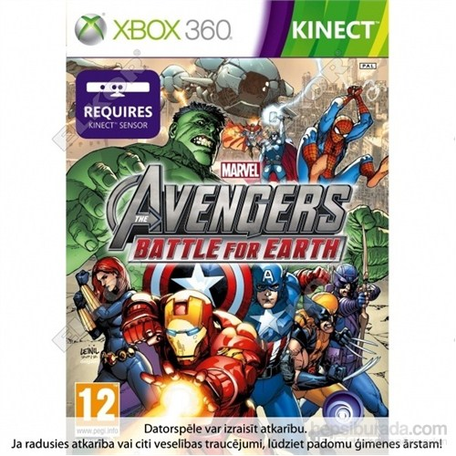 Marvel The Avengers Battle For Earth Xbox 360